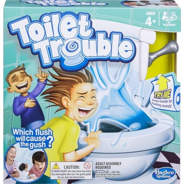 Hasbro Gaming Toilet Trouble