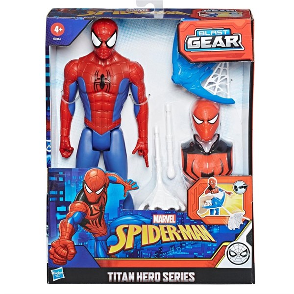 Hasbro Spiderman Titan Hero Blast Gear Figür