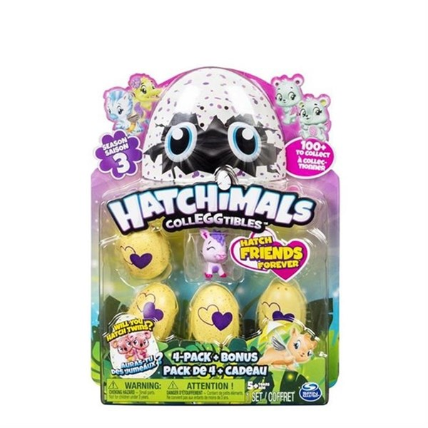 Hatchimals Colleggtibles Dörtlü Paket Sezon 3 19104S3
