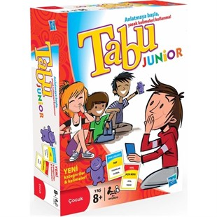 Hasbro Games Tabu Junior Kutu Oyunu