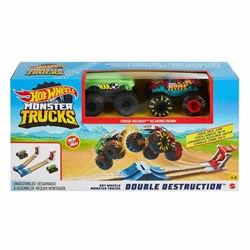 GYC80 HOT WHEELS MONSTER TRUCKS CIFTE CARPISMA OYUN SETI-Kategorisiz